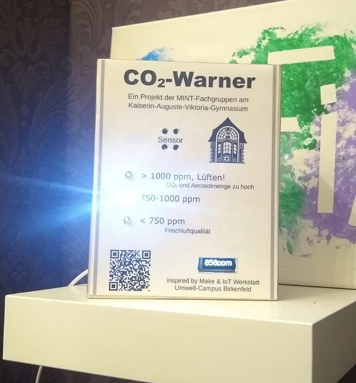 CO2-Warner Front